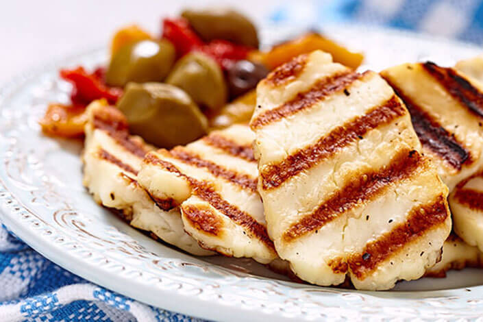 Grilled Halloumi From Cyprus