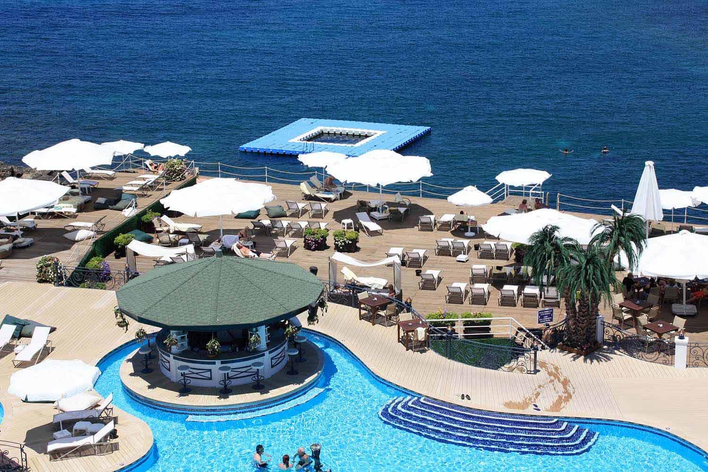 Rocks Hotel, Kyrenia Harbour, North Cyprus
