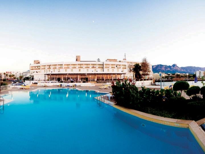Dome Hotel, Kyrenia Harbour, North Cyprus