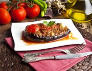 turkish traditional aubergine eggplant meal